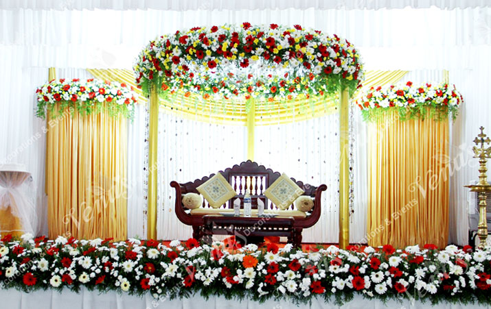 christian wedding stage decorations - Stage Decorations