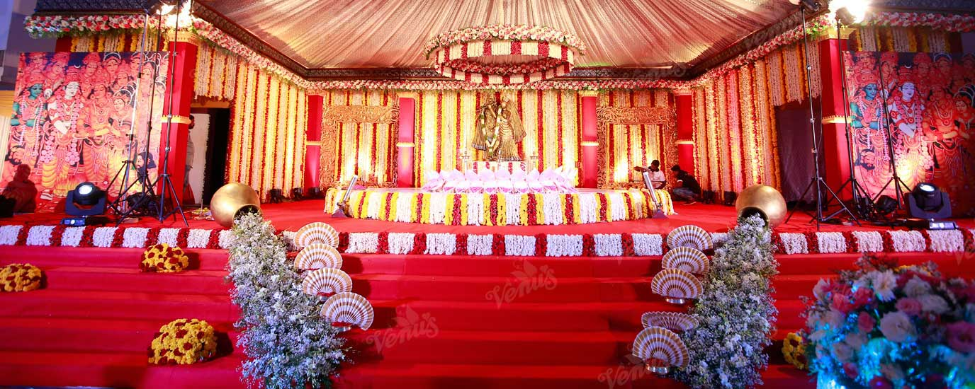 christian weddind stage decoration