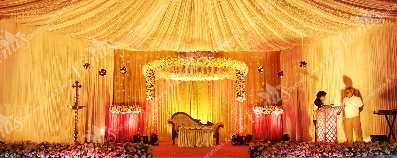 weddind stage decoration